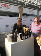 Domaine Vintur at the London Wine Fair