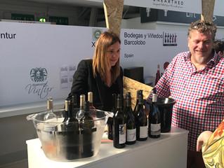 Domaine Vintur at the London Wine Fair