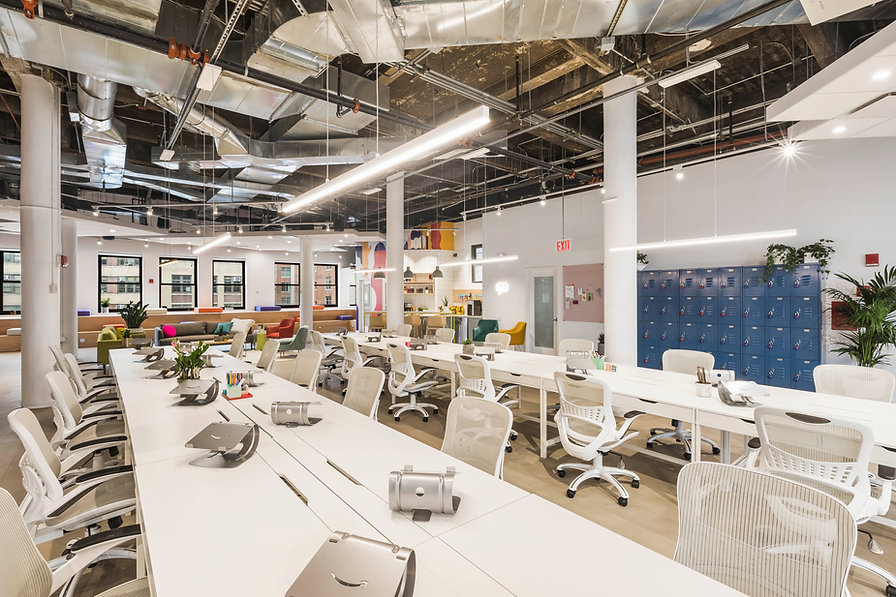 """We have extensive experience in design and delivery of activity based workplace (ABW), which saves your operating cost and rental cost (by downsizing the leasing area).  For us, ABW is more than just workstations and lockers in the workplace. Essentially, the design - as we call the name """"activity"""", is based on end-users' daily activities. Then it involves other design factors, including the space ratio between communal area and workstation area, what to include in the communal area, or to be more specific what seating arrangement to be included in the ABW communal area... to name a few. And there is a technology piece in project consultation that we would recommend our client to consider as well, i.e. sign-in system for seat allocation, meeting space booking system, wireless presenters for display screen,... etc."""