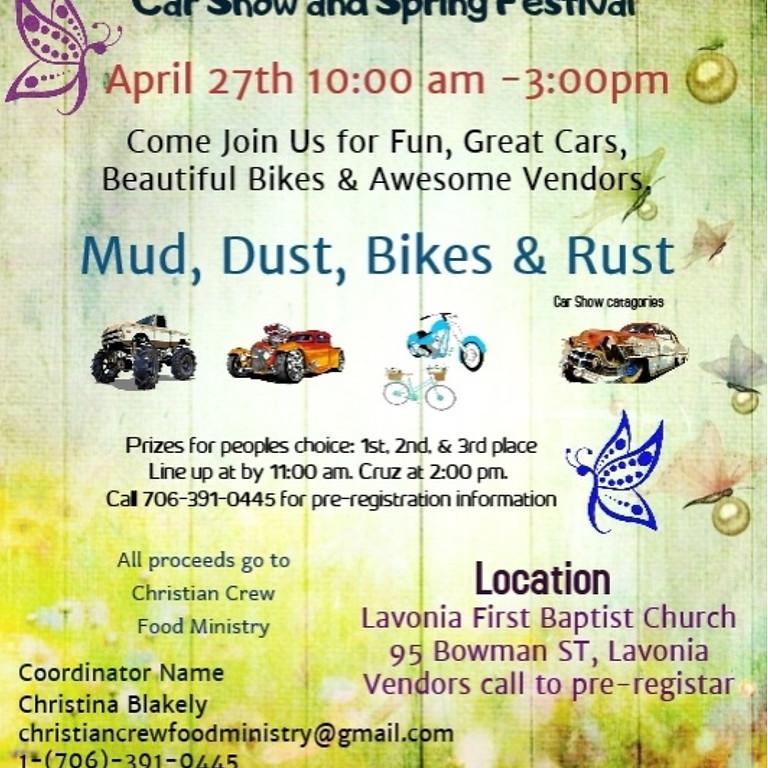 2nd Annual MDBR Car Show & Spring Festival
