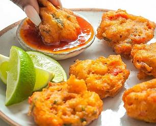 Christiane's Salt Fish Fritters