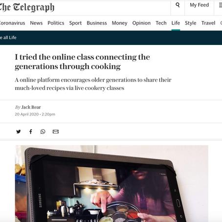 Diaspo featured in The Telegraph
