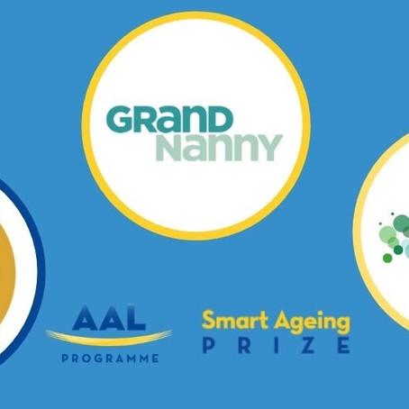 We won Nesta's Smart Ageing Prize!