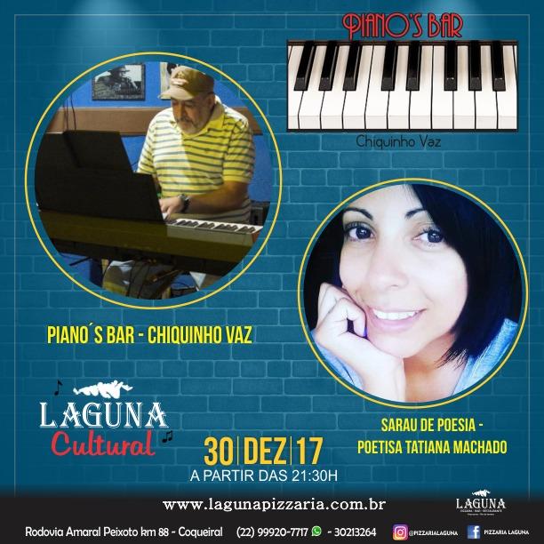 Pianos Bar Sarau Poesia 30 12 2017
