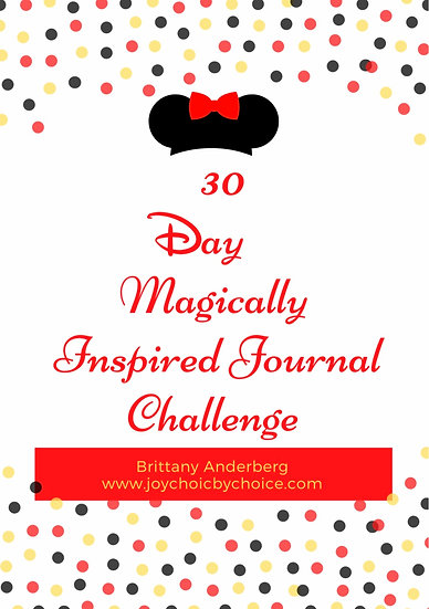 30 Day Magically Inspired Journal Challenge - Digital Copy