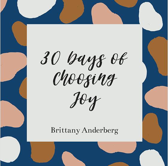 30 Days of Choosing Joy - Digital Copy