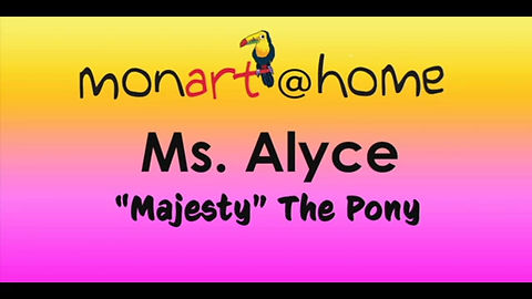 Ms. Alyce Teaches Majesty The Pony Lesson