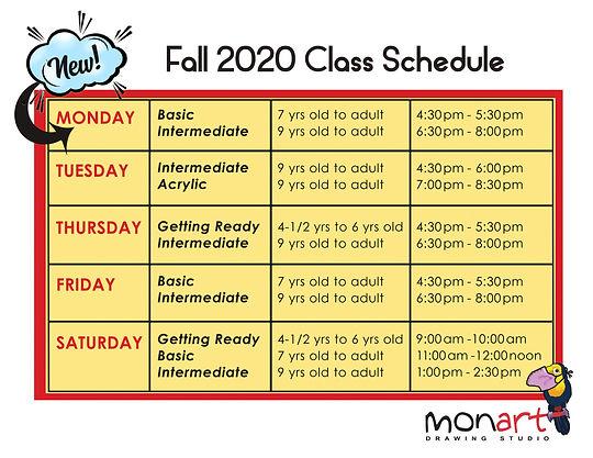 New Class Schedule Fall 2020.jpg