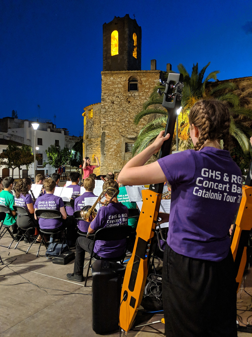 Performance concerts in beautiful Barcelona with Gower Music Tours