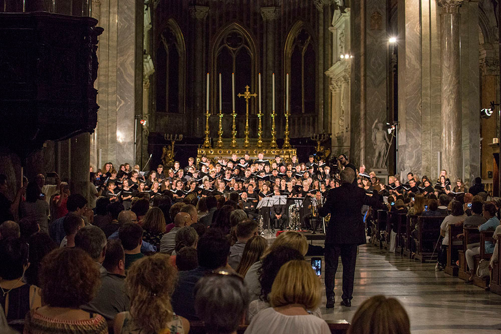 International choral festival in Rome, Gower Music Tours