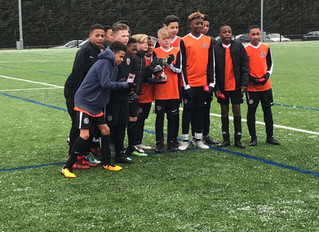 Championes of London: Brixton Club Lambeth Tigers wins 5 London Cups
