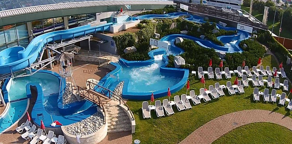 Aqua Palace near Prague, Czech Republic's largest water park