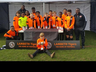 U12s win the London Cup