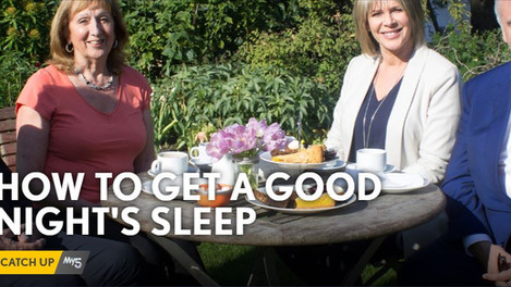 Mike appears on Channel 5's 'How To Get A Good Night's Sleep'