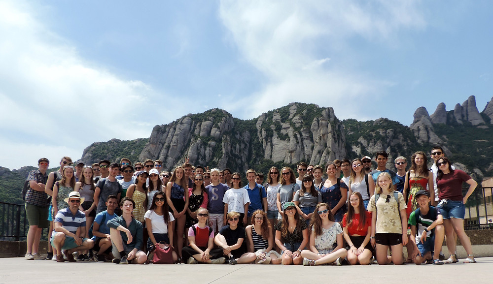 Barcelona - perfect location for a school music tour