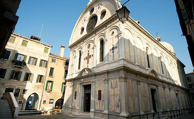 Perform at Santa Maria dei Miracoli
