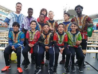 Under 12s represent Ghana in Sweden