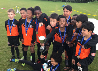 Double cup glory for young Tigers