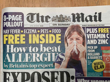 How to beat allergies by Britain's top expert