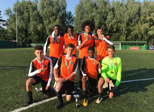 U15s win Whyteleafe FC tournament for the third year in a row