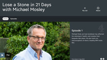 Mike appears on Channel 4 with Michael Mosley
