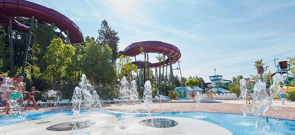Caribe Aquatic - popular with school tours of Barcelona & Costa Dorada