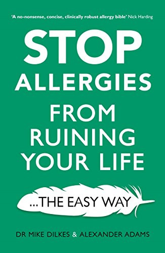 Allergy book available in print and now as an audio book