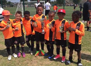 U7s win Ryan FC tournament