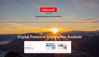 Free Digital Presence Competitor Report | inboundr.co.uk