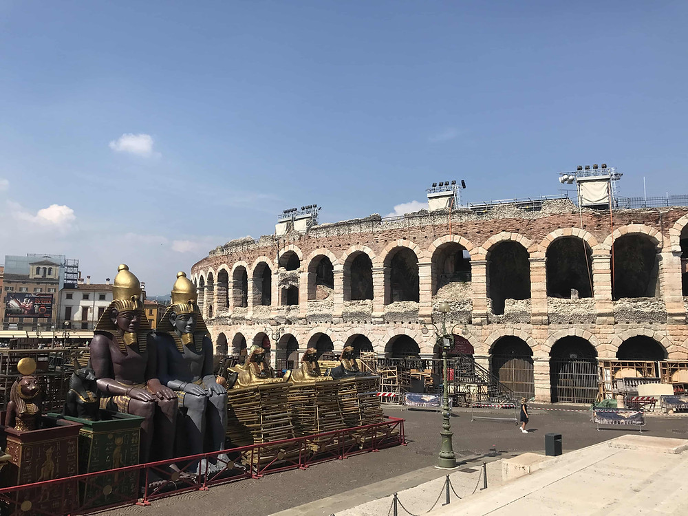 Arena di Verona with Gower Music Tours