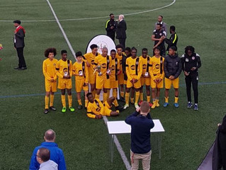 London Cup Final success for U16s