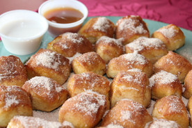 Buggy Bites with Cinnamon and Sugar