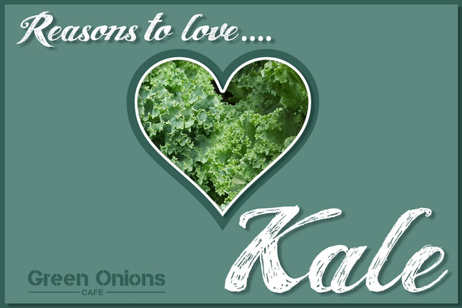 Kale is Among The Most Nutrient Dense Foods on The Planet!