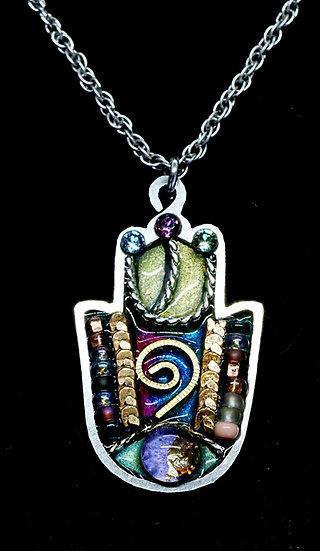 Wearable Hamsa Amulet