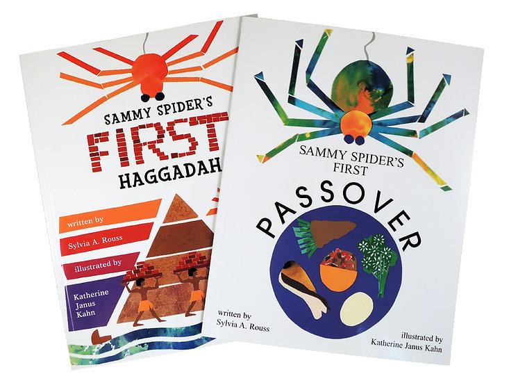 Sammy Spider Passover books