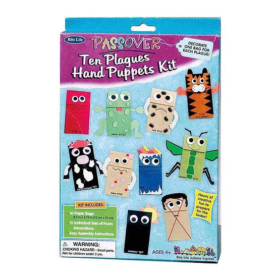 Ten Plagues Puppet Kit