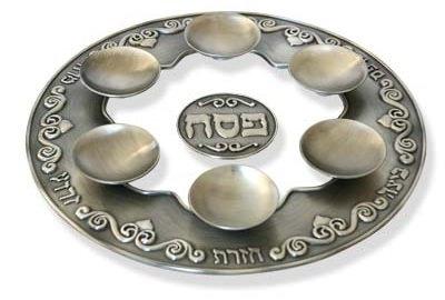 """Seder Plate """"Modern Heirloom"""""""