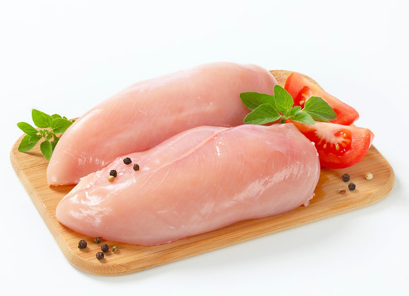 Boneless Chicken Breast (.85 - 1 lb) 2 per pkg