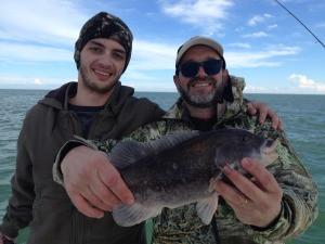 december winter outer banks fishing