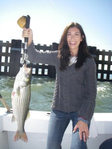 schoolie striper fishing oregon inlet, north carolina