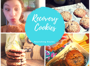 Real Recovery Chocolate Chip (Gooey Centred) Cookies