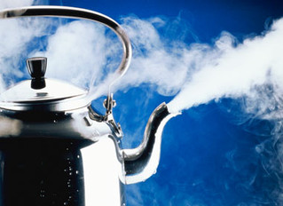 Overworking Yourself is Like Over-boiling a Kettle ?!
