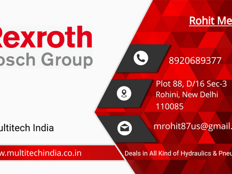 Rexroth Products Hydraulic Valve and Pumps