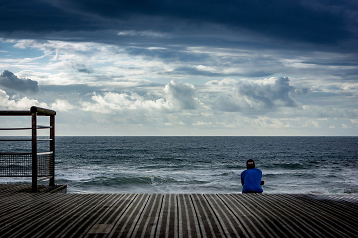 Méditation sur la Plage d'Anglet