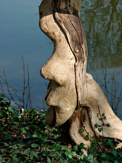 L'Africain , Bagatelle, Bois de Boulogne, Paris, 2003