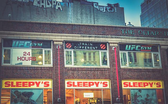 Dans les rues de Manhattan