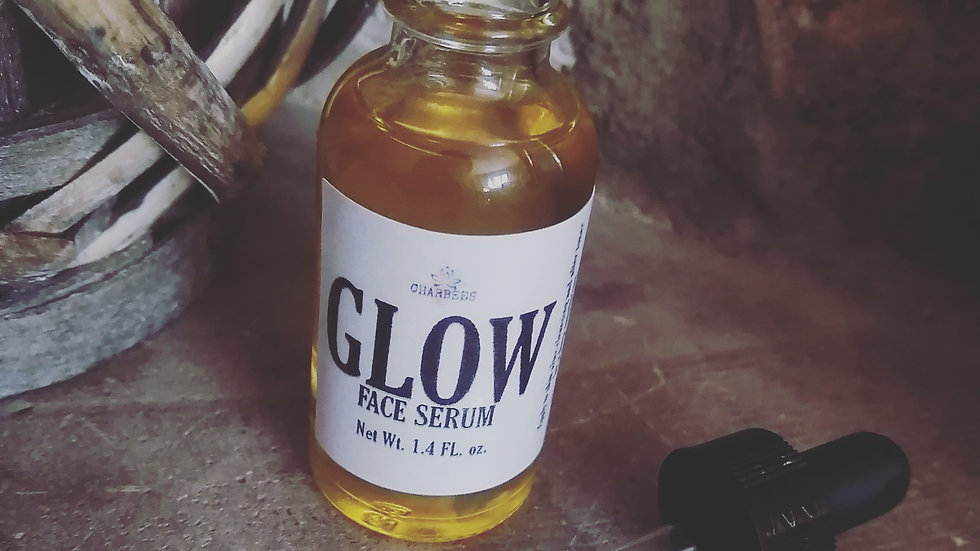 """""""glow"""" face serum"""