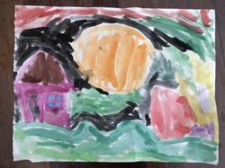 Ewan sky colour painting