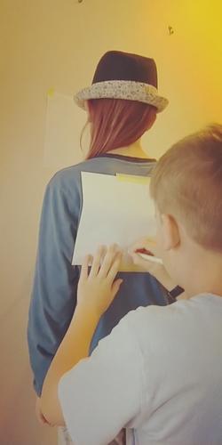 Jesse and Jake drawing challenge 2