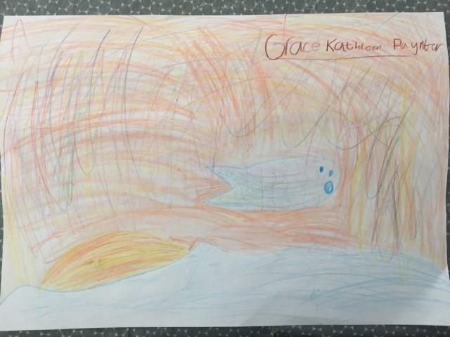 Grace P Sky colour art